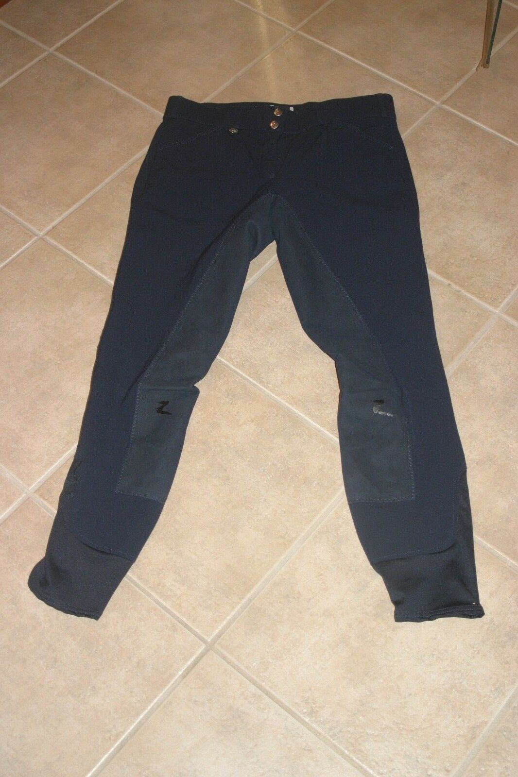 Ladies Horze Riding Breeches, Navy Size XL L Or 30 32 Full Seat