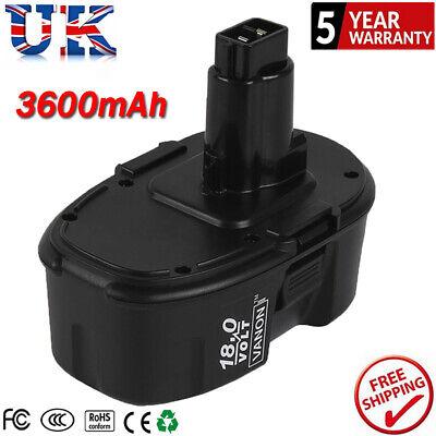 18V 1.3Ah Cordless Drill Battery For Dewalt DE9098 DC9096 DE9095 DC725 DE9039 UK