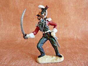 Soldat-de-plomb-napoleonien-4-Rgt-de-chevau-legers-lanciers-trompette