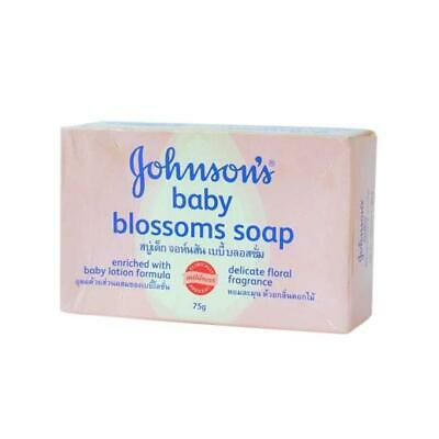Contemplative Johnson's Baby Soap - Pink Blossoms Variety - 75g - Free Worldwide P&p!!