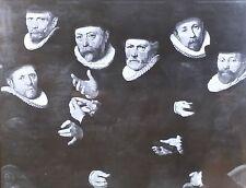 Cloth Essayers of Draper's Guild, Pieter Pietersz I, Magic Lantern Glass Slide