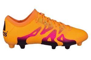 f3df825c27a ADIDAS X 15.2 FG AG Solar Gold Orange Pink Soccer Cleats Mens 8 8.5 ...