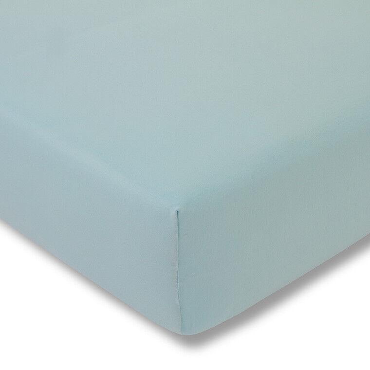 Estella Spannbetttuch Zwirn Jersey Artikel 6900 Farbe  azur 640