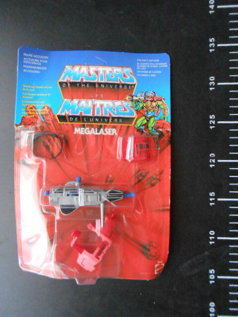 MEGALASER He-Man Masters of the Universe Action Figure motu unpunched vintage