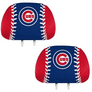 Chicago-Cubs-2-Pack-Color-Print-Auto-Car-Truck-Headrest-Covers