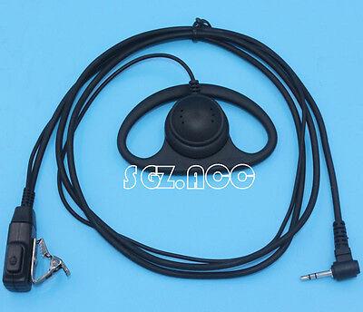 Motorola Radio D Shape Earpiece Headset Mic 1 Pin 2.5mm jack