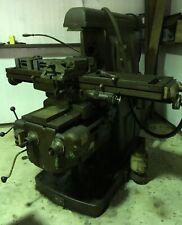 Van Norman N0 2 Heavy Duty Milling Machine