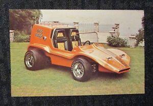 "BUGS BUGGY 3.5x5.5"" Promo Card VF 8.0 Harry Bradley Custom Car"
