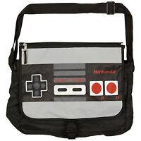 Official Nintendo Nes Controller Reversible Messenger Shoulder Bag - Retro Gamer
