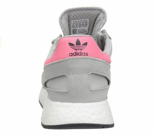 Adidas Originals Women's I-5923 Running shoes, shoes, shoes, Grey Chalk Pink Black, 9.5  US f7bf49