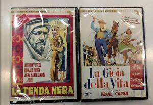La-Tenda-Nera-La-Gioia-Della-Vita-2-Dvd-Cineteca-Quadrifoglio-Nuovo