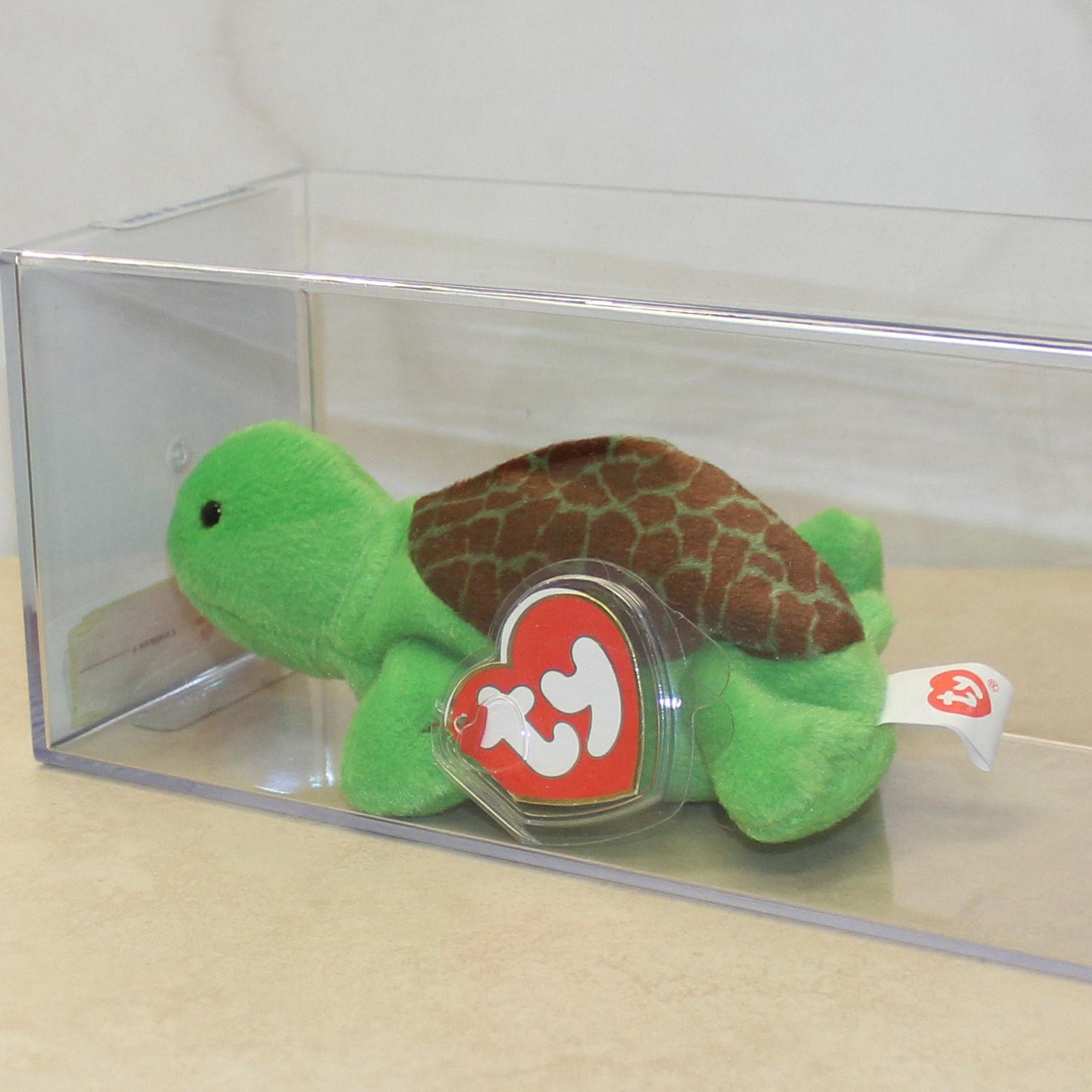 Authenticated Speedy (Turtle) MWMT MQ 3rd 2nd gen Ty Beanie Baby (SP)
