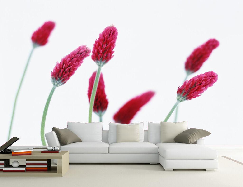 3D Tulipe Bourgeon Photo Papier Peint en Autocollant Murale Plafond Chambre Art