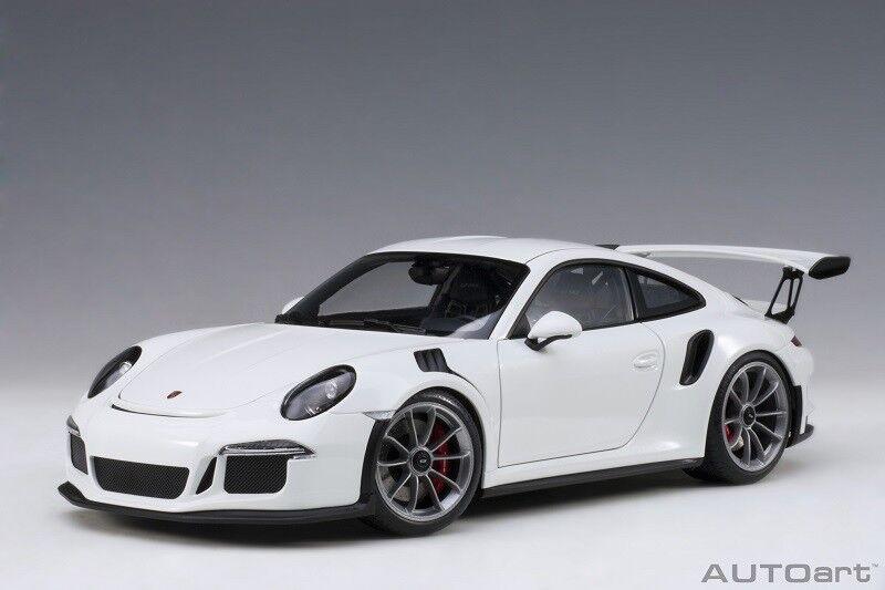 78166 PORSCHE 911  991  gt3 RS  bianca  2016  Composite Model/Full, 1:18 Autoart