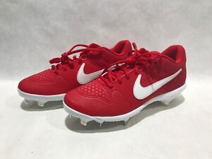 Details about Nike Alpha Huarache Varsity Low Metal Baseball Cleats Men's  Size 8.5 A07960-601