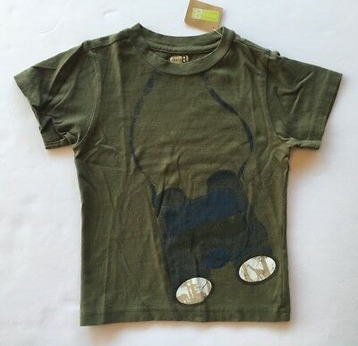 GYMBOREE SAFARI SMILES GRAY w// Little Man EMBROIDERED S//S TEE 2T 3T 4T NWT