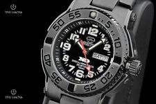 Reactor 40mm Trident Titanium Black Diamond-Like Coated Bracelet Watch - 58501