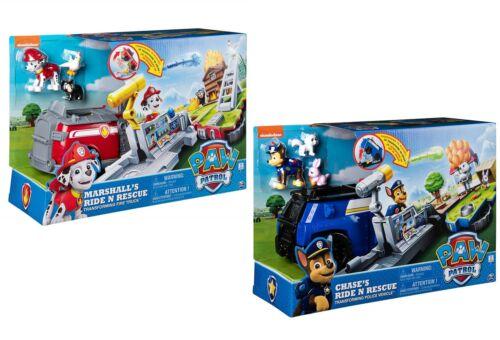 SPINMASTER Paw Patrol Ride N sauvetage 1 en 2-Figurines et camion