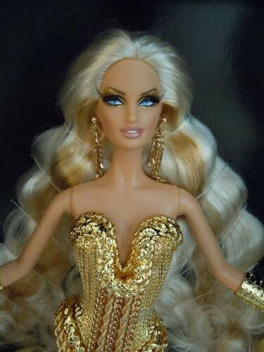 SOLD OUT ! SUPER GORGEOUS DIVA BLOND ! MATTEL THE BLONDS BLOND GOLD BARBIE DOLL