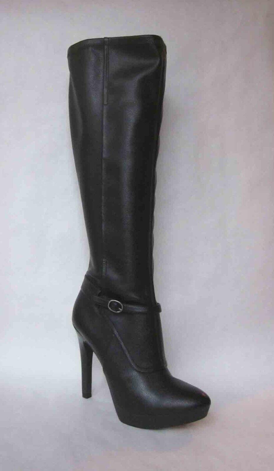Nine West Ivanbella Black Knee High Platform Boots - SIZE 9.5