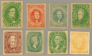 CSA 1//14 Confederate forgeries, attractive set of fakes, likely all Springfield