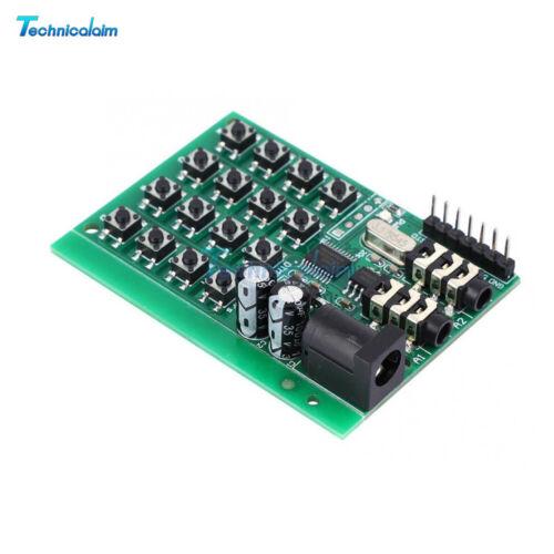 Keypad Generator Module Audio DTMF Encoder Transmitter Board for Arduino UNO Pro