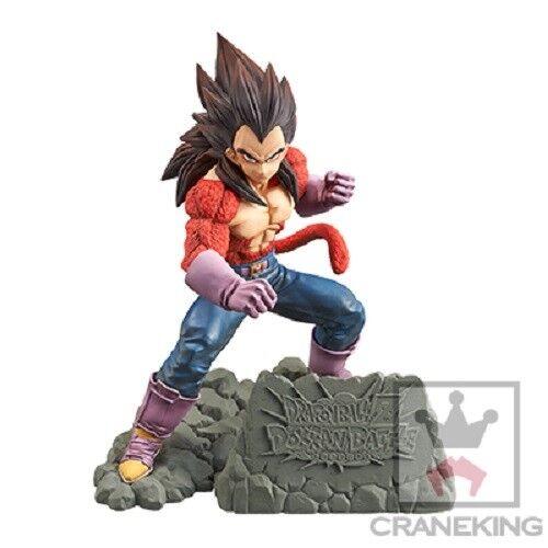 "Banpresto Dragonball Z Dokkan Battle 4th Anniversary /""SS4 Vegeta/"" Figure Japan"