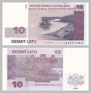 Lettland-Latvia-10-Latu-2008-p54-unz