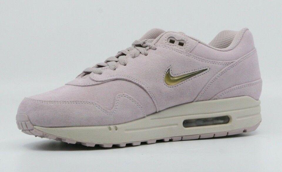 Nike Air Max 1 Jewel Particle rosa oro oro oro Uomo scarpe da ginnastica Dimensione 8 (918354-601) 05d46d