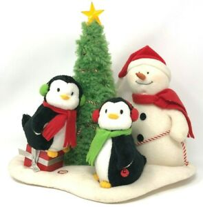 Hallmark-Jingle-Pals-2006-Very-Merry-Trio-Animated-Musical-Snowman-See-Video