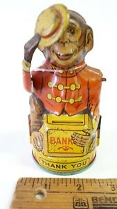 1950-039-s-Monkey-Bank-by-Chein-Very-Good-Original-Condition-US