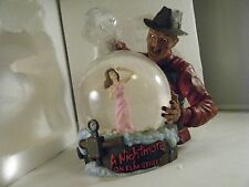 A Nightmare on Elm Street Horror Globe Freddy Krueger Neca Reel Toys 2003 NIB