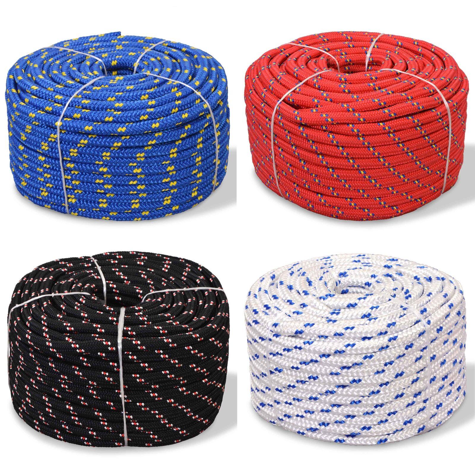 VidaXL Marine Rope Polypropylene Weatherproof Swing Multi Sizes Multi Colours