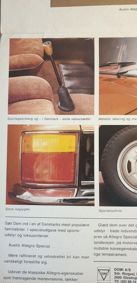 Brochure, Austin Allegro