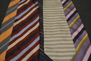 Lot-of-5-ALEXANDER-JULIAN-Neckties-incredibly-cheap-price-Grab-it-D5