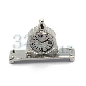 Das Bild Wird Geladen Miniatur Uhr Puppenhaus Kamin Zubehoer Wohnzimmer  Dekoration Uhren