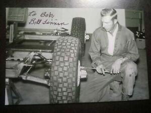 Nasa Apollo LRV Lunar Rover, Bill Tinnin original signed Photo, Space, USA, Moon