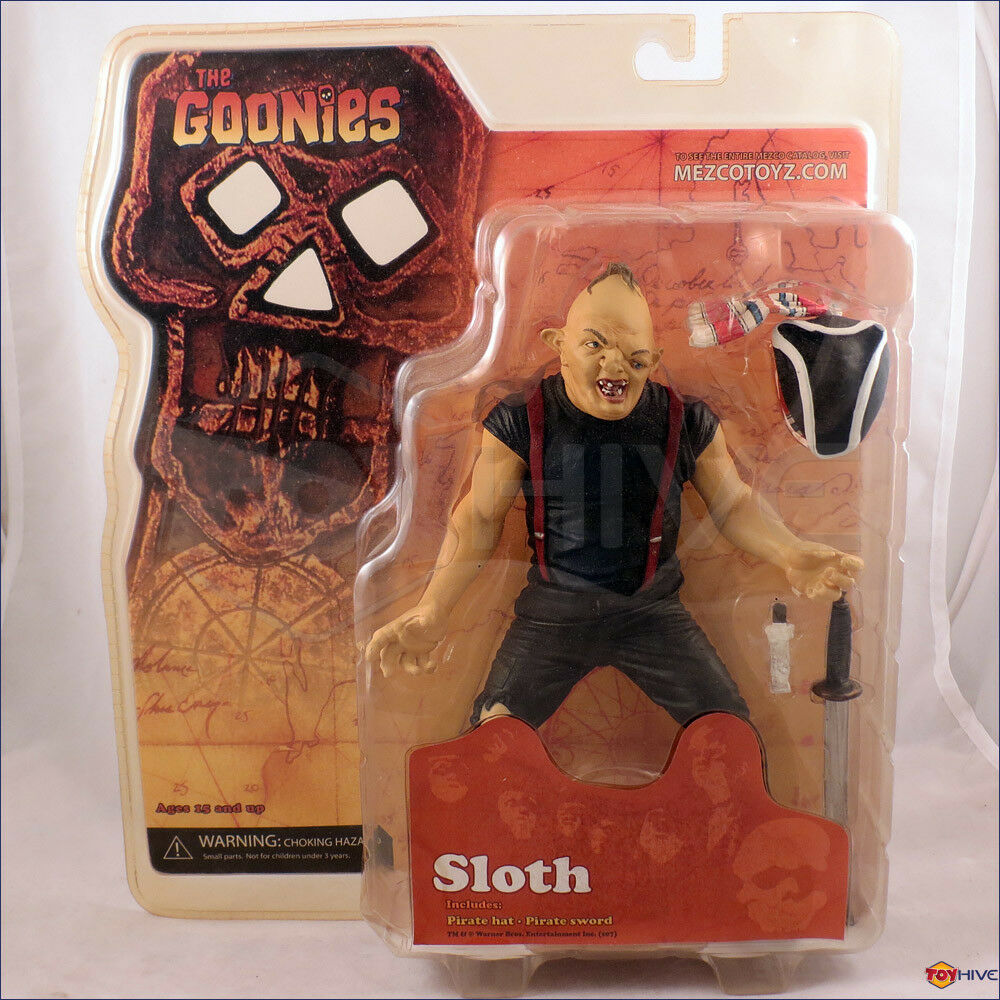 The Goonies - Sloth 7-inch scale movie action figure made by Mezco Toys 2007