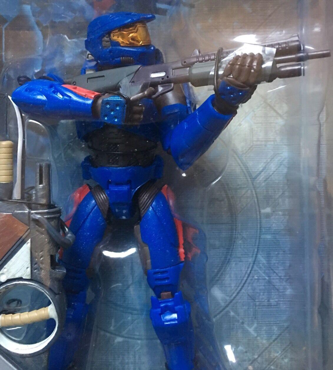 RARA GRANDE Joyride Halo 2 Series 3 Blu Spartan Rosso monmc FACTORY Fresh Bubble