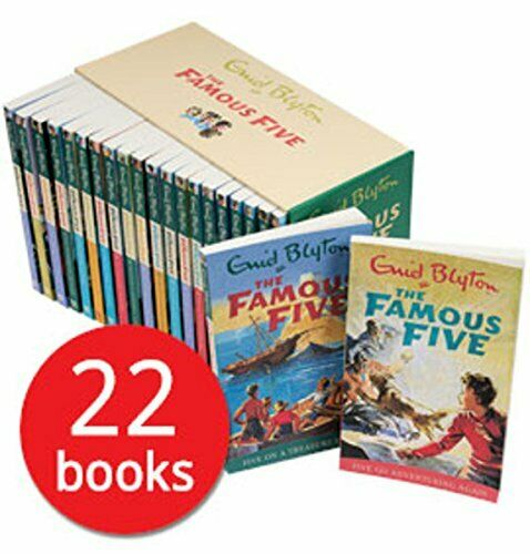 The Famous Five Complete Collection 22 Books For Sale Online Ebay