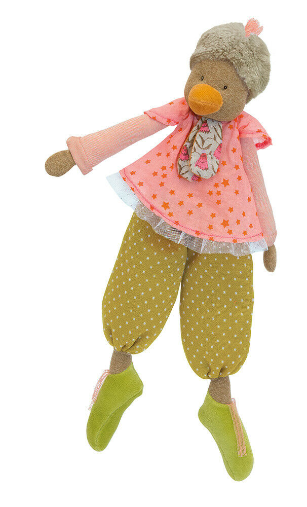 Moulin redy Les Tartempois Large Dangly Hen Plush Soft Toy from Wyestyles
