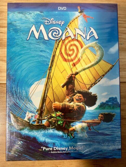 Disney: Moana (2016) DVD **GREAT DEAL** **FREE SHIPPING**