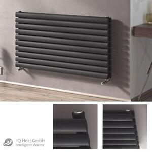 design paneelheizk rper horizontal forte anthrazit heizk rper badheizk rper ebay. Black Bedroom Furniture Sets. Home Design Ideas