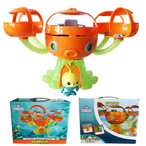 Octonauts Octopod Tunip Playset Action Figures Kids Exercise