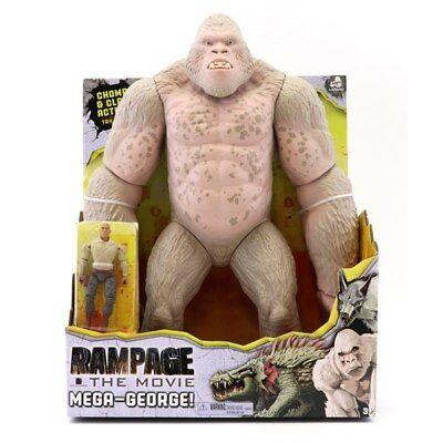 Rampage the Movie Mega George Figure Davis Okoye