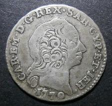 Italian Sardinia - Reale 1770 - much scarcer than Krause implies - Italy C#40