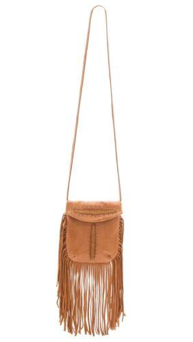 Sac cuir bandouliᄄᄄre westernBoho marroncognac Fringe Bag ᄄᄂ Cleobella Memphis TFc1JKl3