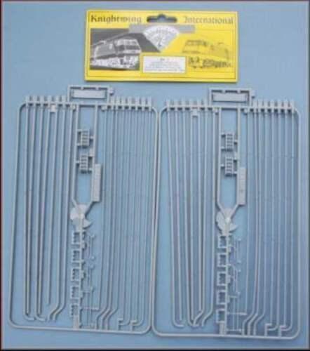 Knightwing UN1 Universal Pipes /& Fittings x 2 Sprews OO Gauge Plastic kit T48Pos