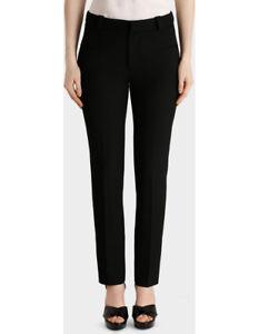 NEW-Roland-Mouret-Lacerta-Straight-Leg-Trouser-Black
