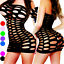 Bodystocking-Women-Sleepwear-Nightwear-Bodysuit-Nightwear-Robe-Stocking-Lingerie thumbnail 1